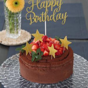 お菓子 No.247 息子の誕生日に。チョコレートケーキ