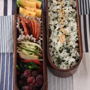 お弁当 No.829 鮭入りチヂミ&焼豚弁当