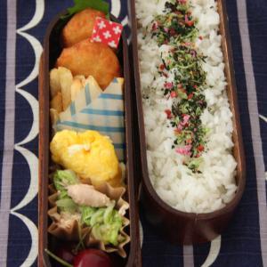 お弁当 No.840 チキンナゲット&無限白菜弁当