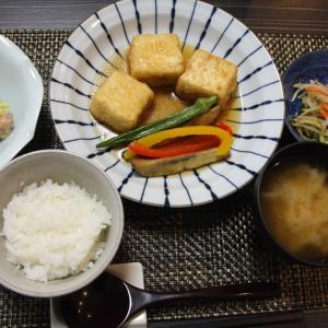 お夕飯 No.140 冷やし揚げ出し豆腐&とり白菜