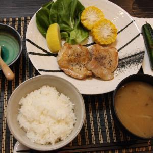 お夕飯 No.142 鶏肉のソテー&きゅうりの1本漬け