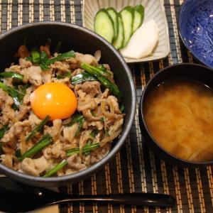 お夕飯 No.144 スタミナ丼