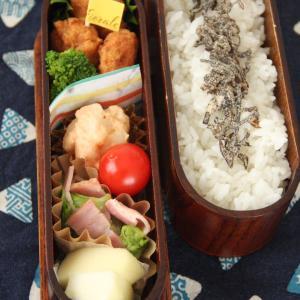 お弁当 No.861 チキンナゲット&明太ポテトサラダ弁当