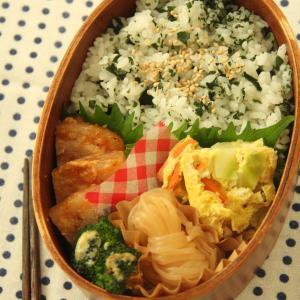 お弁当 No.882 豚ロースの味噌煮&オープンオムレツ弁当