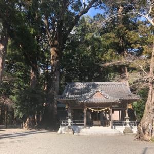 水屋神社(三重県松阪市飯高)