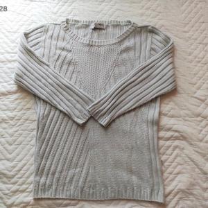 【毛糸】セーターをほどきました(綿・アクリル/水色)
