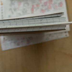 インクトーバーとノートとキャッシュレス