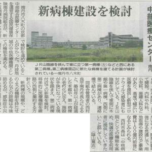 京都中部総合医療センター 新病棟建設を検討─京都新聞 丹波版より