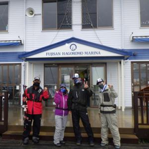 富士山羽衣マリーナからアカムツスロージギングへ!