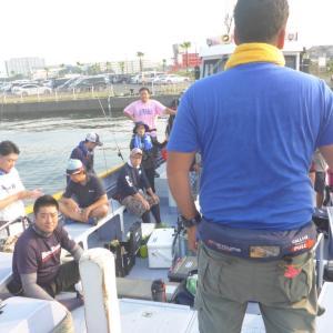 BlueBlue主催「タチウオジギング釣行会」!