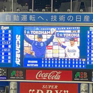 ☆井納7イニング無失点余力持った降板でも3勝目完封リレー! 8/4火DB-D~横浜