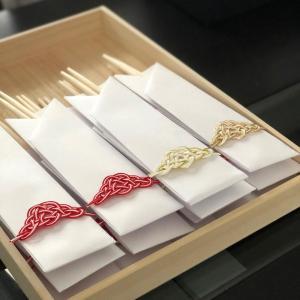 水引箸袋のデザインについて