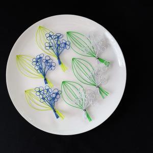 ブルー系の紫陽花