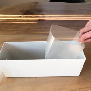 【無印良品】シート仕切りボックスでファイルボックス内がストレスなく仕切れるように!☆