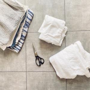 【サステイナブル】古布の種類によって掃除場所を使い分ける!簡単スピード掃除で家もココロもスッキリと!