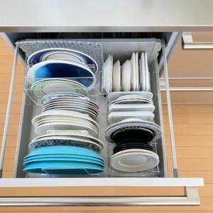 【収納】キッチン収納 お皿は増えるときは簡単に、手放すときは・・・!