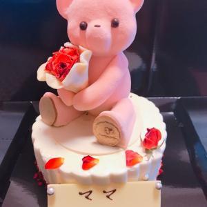 ルワンジュのクマさんケーキ