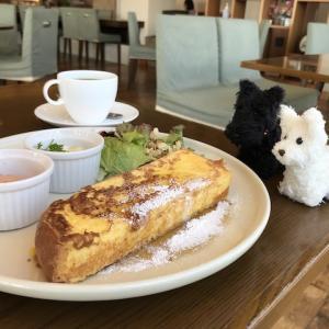 久しぶりに訪れたカフェ