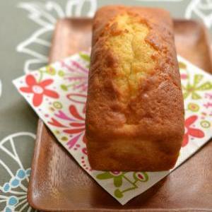パウンドケーキは冷やしても美味しいのですよ(ものによるけど)