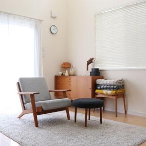 もうひとつ、リビングに追加した北欧ヴィンテージ家具。