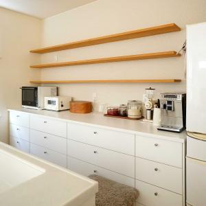 キッチン・オープン棚の掃除
