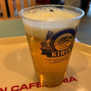 幕張「ロイヤルガーデンコート」でビール休憩
