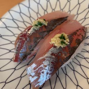 サクッと回転寿司ランチ。大名「冨士丸」