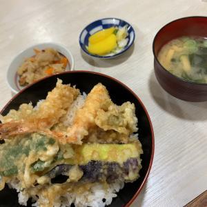 博多駅前「てんぷらにってん」で揚げたて天丼