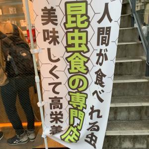 とうとう福岡にも昆虫食〜大名「bagoom」