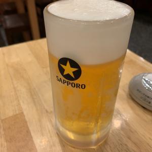 大分「竹田丸福」で最後のビール