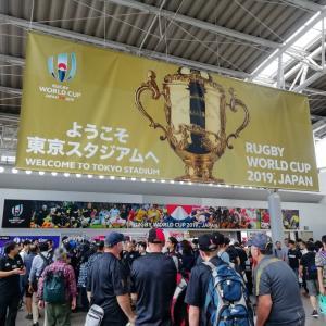 W杯ラグビー ニュージーランドvsナミビア戦