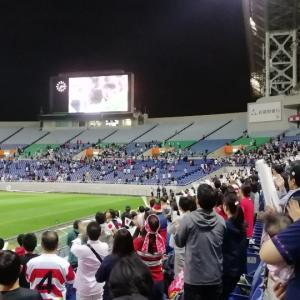 W杯ラグビー日本大会 日本vs南アフリカ戦パブリックビューイング。その2