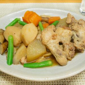 鶏手羽元の根菜煮