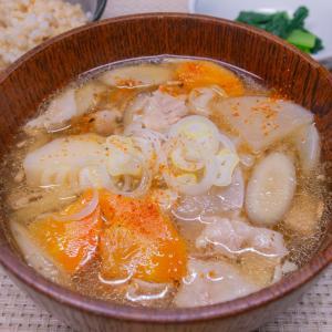根菜の豚汁