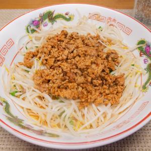 明星チャルメラ宮崎辛麺で簡単まぜそば