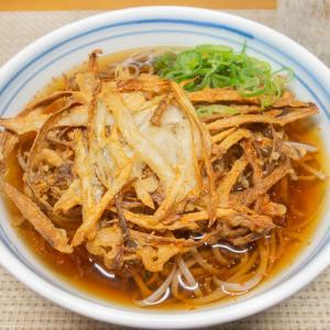 ごぼう天ぷら蕎麦