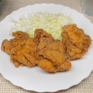 鶏唐揚げカレー風味