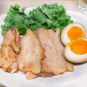 やわらか煮豚と半熟煮卵