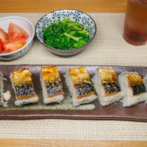 焼き塩鯖寿司