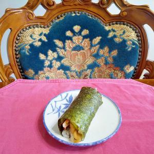 かんぴょうの手巻き寿司
