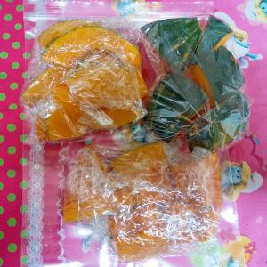 南瓜の冷凍保存解凍方法
