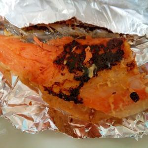 鮭の酒粕味噌焼き