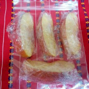 林檎の冷凍保存