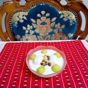 チョコマシュマロヨーグルト