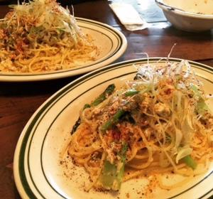The Source Diner(松本市)で豆乳と坦々ネギパスタ❗️✨ボランティアのはるかちゃん感想