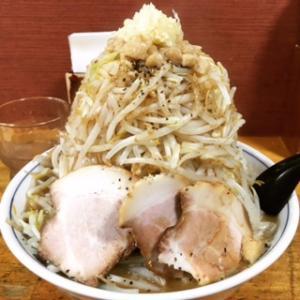 気むずかし屋 (長野駅東口そば)で気む二郎  野菜増し❗️✨