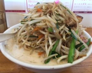 極濃湯麺 フタツメ 青木島店(長野市)で濃厚タンメン 大盛り 野菜増し❗️✨