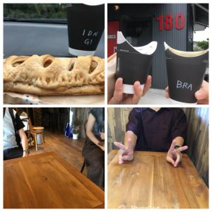 180coffee Stand(上田市)で和栗とカスタードのパイ& バタフライカップ❗️✨ 参加者紹介