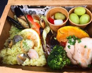 フェアリーテイル(上田市古里)でお弁当BOX❗️✨ ボランティアのマルオくん感想✨