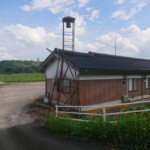 鳥取県東伯郡琴浦町大字杉地の火の見櫓 370基目